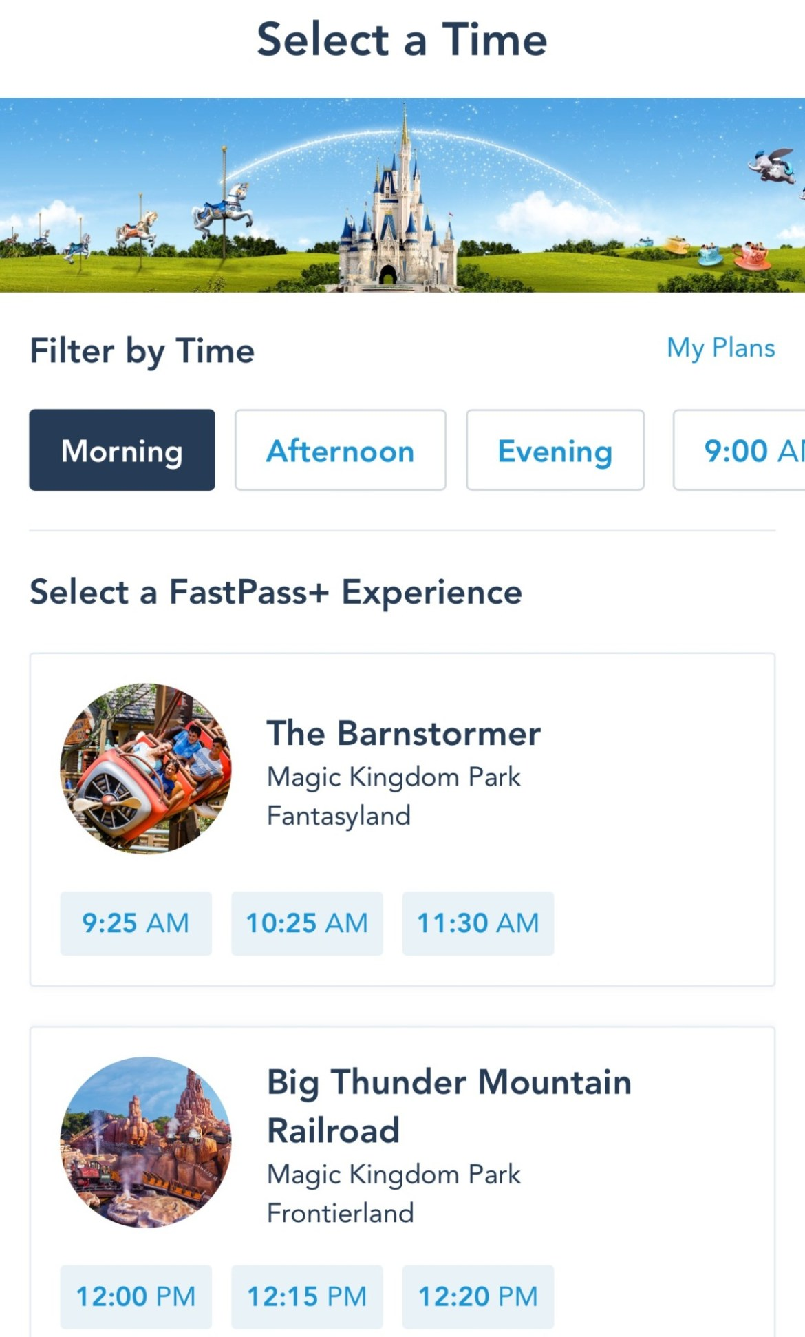 New Update To Disney's FastPass+ System
