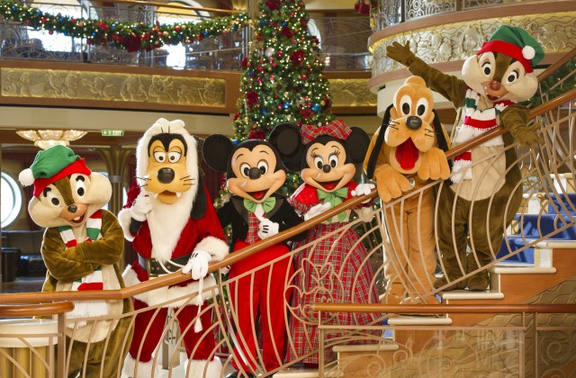 Celebrate Christmas on the High Seas with Disney Cruise Line