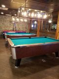 Pool Tables at Evergreens