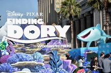 HOLLYWOOD, CA - JUNE 08: A view of the atmosphere at The World Premiere of Disney-Pixar's FINDING DORY on Wednesday, June 8, 2016 in Hollywood, California. (Photo by Alberto E. Rodriguez/Getty Images for Disney)
