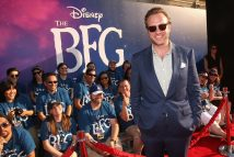 """HOLLYWOOD, CA - JUNE 21: Actor Rafe Spall arrives on the red carpet for the US premiere of Disney's """"The BFG,"""" directed and produced by Steven Spielberg. A giant sized crowd lined the streets of Hollywood Boulevard to see stars arrive at the El Capitan Theatre. """"The BFG"""" opens in U.S. theaters on July 1, 2016, the year that marks the 100th anniversary of Dahl's birth, at the El Capitan Theatre on June 21, 2016 in Hollywood, California. (Photo by Jesse Grant/Getty Images for Disney) *** Local Caption *** Rafe Spall"""