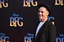 """HOLLYWOOD, CA - JUNE 21: Actor Mark Rylance arrives on the red carpet for the US premiere of Disney's """"The BFG,"""" directed and produced by Steven Spielberg. A giant sized crowd lined the streets of Hollywood Boulevard to see stars arrive at the El Capitan Theatre. """"The BFG"""" opens in U.S. theaters on July 1, 2016, the year that marks the 100th anniversary of Dahl's birth, at the El Capitan Theatre on June 21, 2016 in Hollywood, California. (Photo by Alberto E. Rodriguez/Getty Images for Disney) *** Local Caption *** Mark Rylance"""