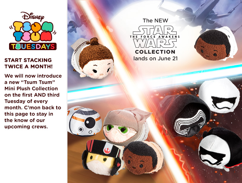 Star Wars: The Force Awakens Tsum Tsum Collection Coming Soon