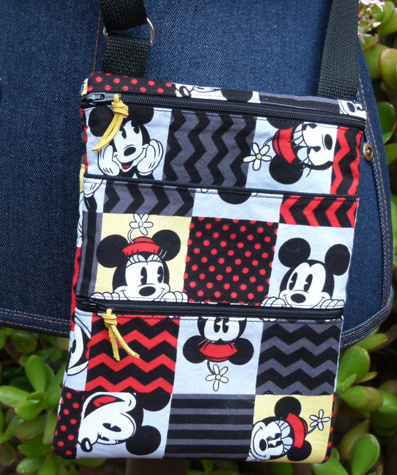 Patch Work Mickey Hipster Purse for Summer