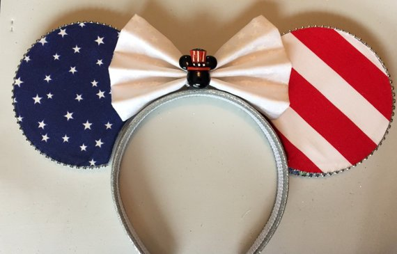 Celebrate in Disney Style with Patriotic Mouse Ears