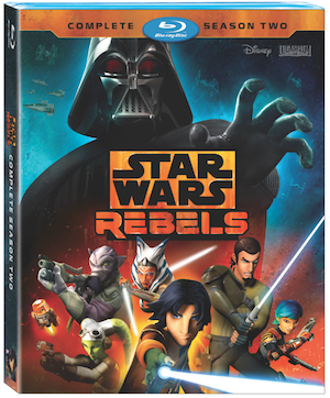 Star Wars Rebels: Season 2 on Blu-ray and DVD August 30