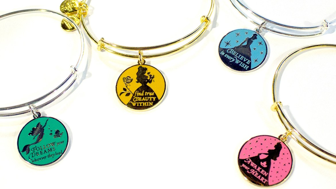 New Alex and Ani bangles inspired by Disney sayings debut June 13 at Disney Parks!