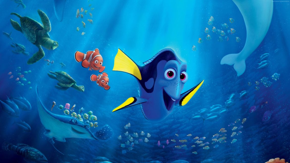 Finding Dory earns over 1 Billion dollars in theater sales