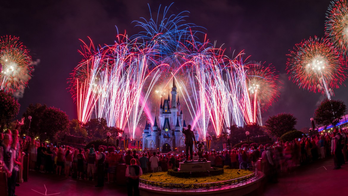 """Disney's Celebrate America! A Fourth of July Concert in the Sky"" Fireworks will Stream Live"