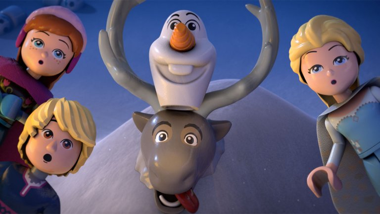 New Lego Frozen Animated Shorts and Book Series Coming Soon!