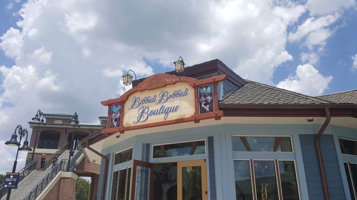 Review of the Bibbidi Bobbidi Boutique's New Location at Disney Springs