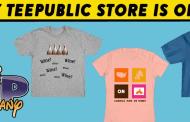 TeePublic Site Wide Sale for July!