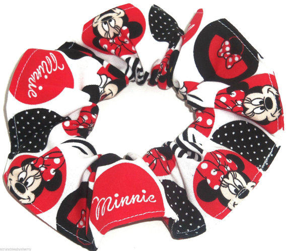 Perfectly Adorable Disney Inspired Scrunchies