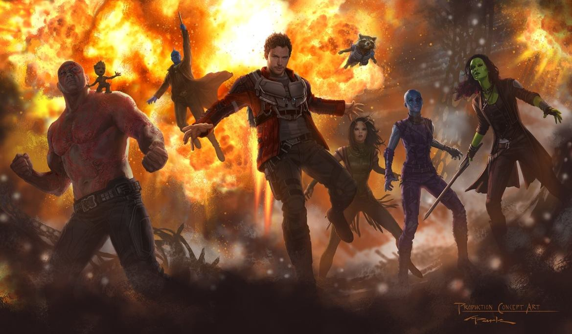 New Concept Art From Marvel's Guardians Of The Galaxy 2