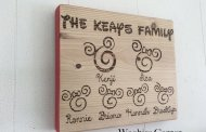 Add Magic to Your Home with a Wooden Disney Family Sign