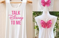 Show Off Your Disney Style with these Disney Bow Tank Tops