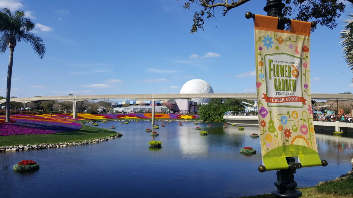 Epcot International Flower & Garden Festival returns March 4-June 1, 2020