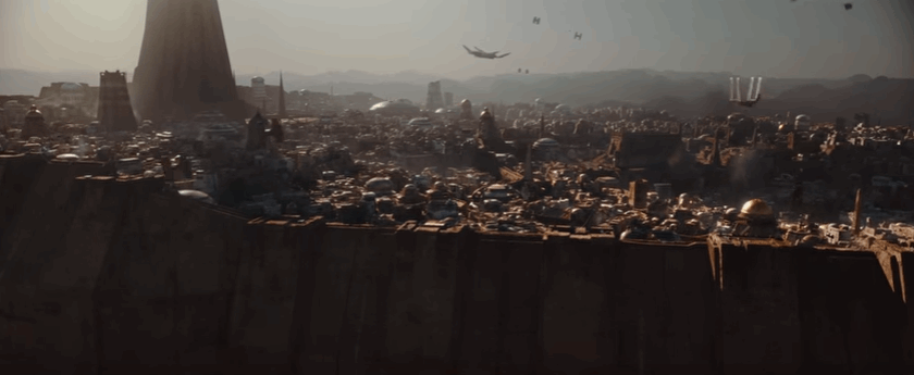 All new Star Wars Rogue One Trailer released during the Olympics