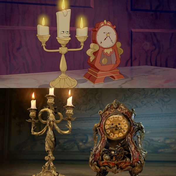 """First Looks At The Live Action """"Beauty And The Beast"""""""