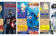 New IncrediBuilds Kits Bring Disney Magic to the Craft Aisles