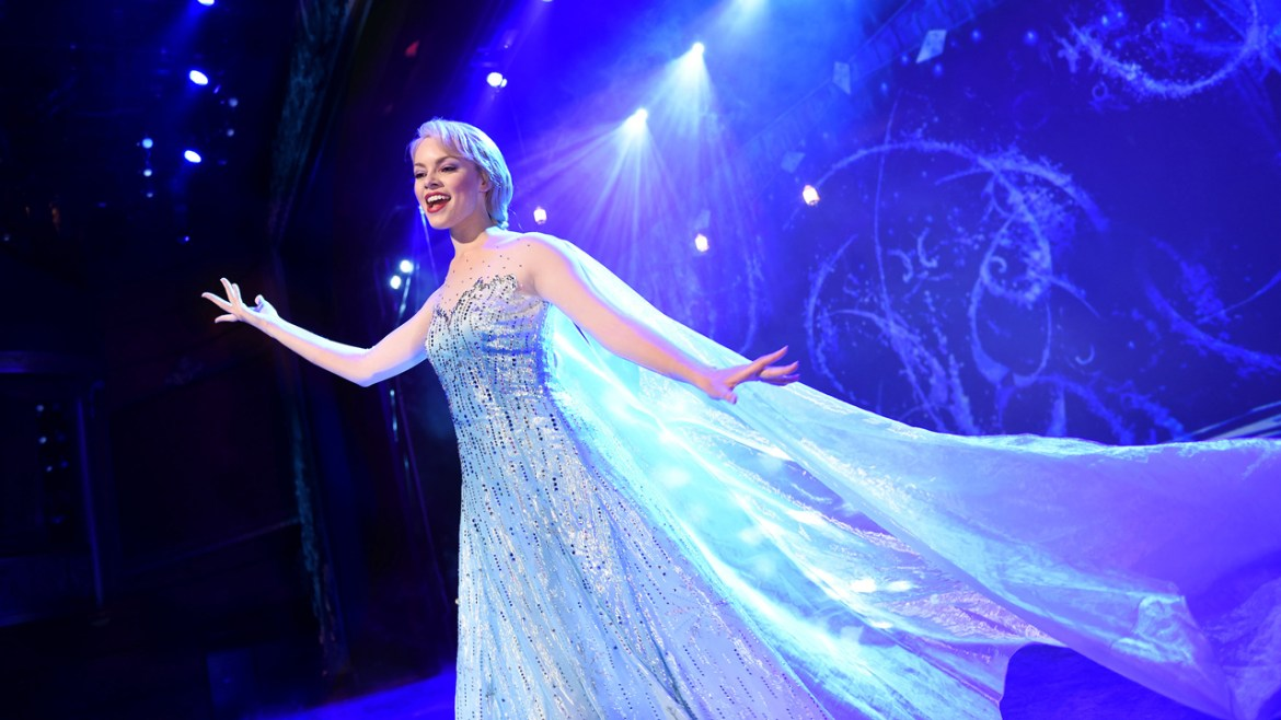'Frozen, a Musical Spectacular' to begin on the Disney Cruise ship the Wonder this November