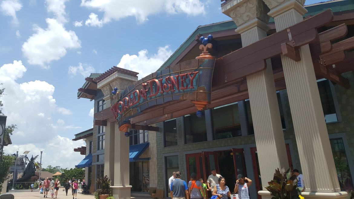 Is World of Disney in Disney Springs getting a character Meet & Greet location?