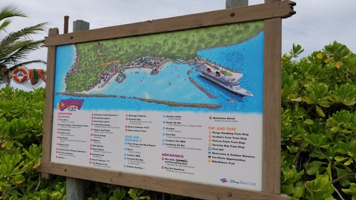Disney's Castaway Cay voted the Best Cruise Line Private Island