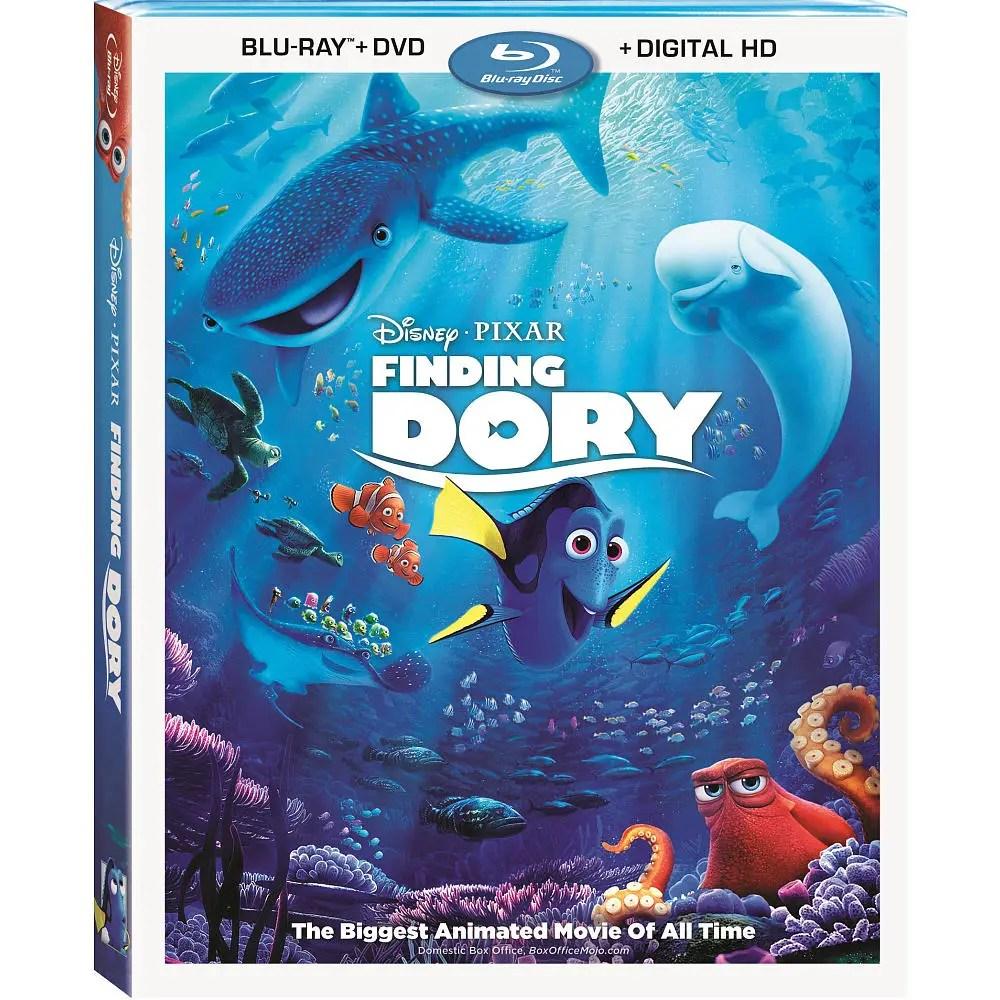 Disney/Pixar's Finding Dory on Digital HD Oct 25 & DVD Blu-ray Nov 15