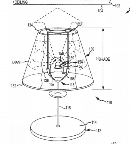 Disney Files Patent for Image Projecting Light Bulbs in guest rooms