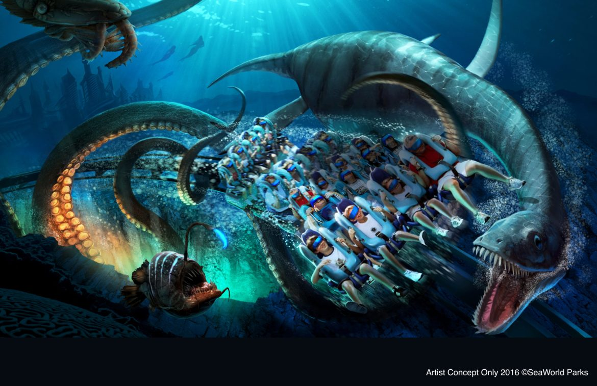 New & Exciting Attractions are coming to Sea World Orlando in 2017