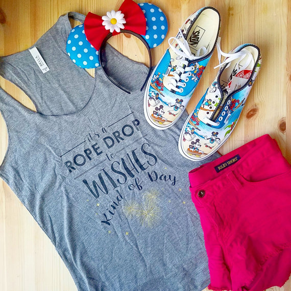 Make your Statement with the Disney Rope Drop Forever Tank Top