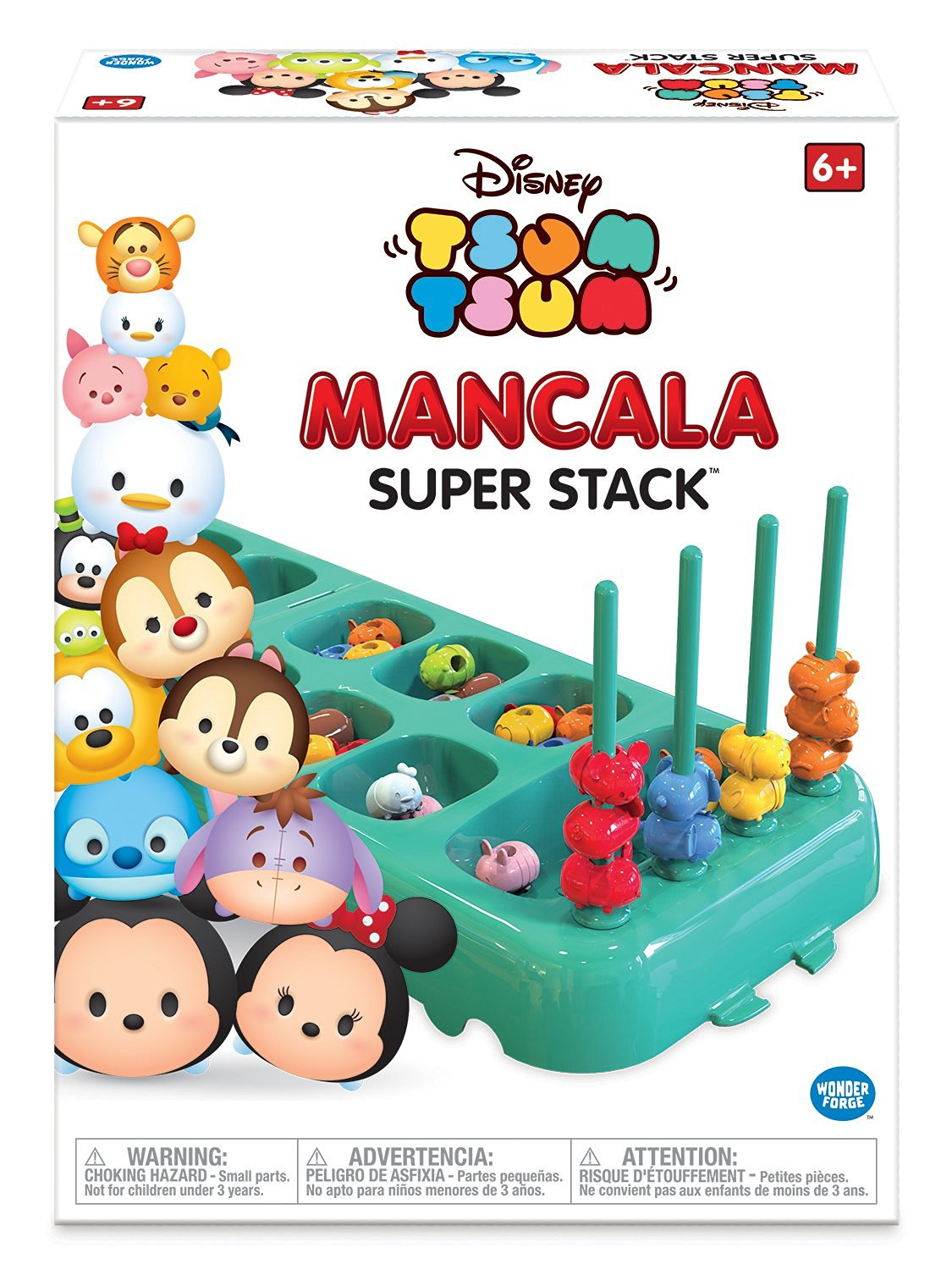 Stack the Fun with the Disney Tsum Tsum Mancala Super Stack Game