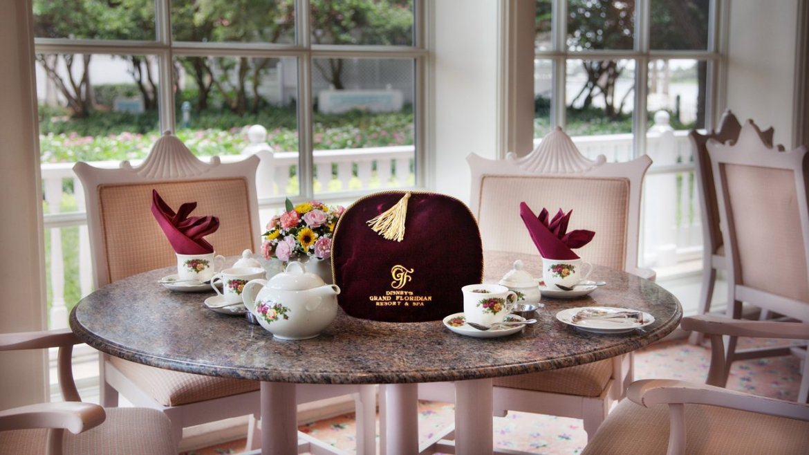 Experience a Traditional 'Afternoon Tea' at Disney's Grand Floridian