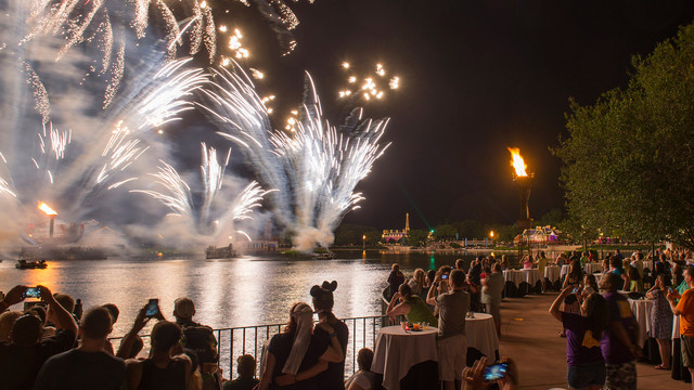 Enhance your IllumiNations Experience at Epcot with a Sparkling Dessert Party