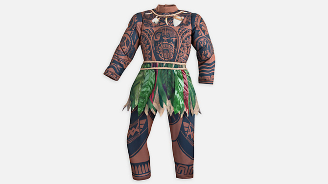 Disney has pulled its controversial Moana costume after consumer complaints