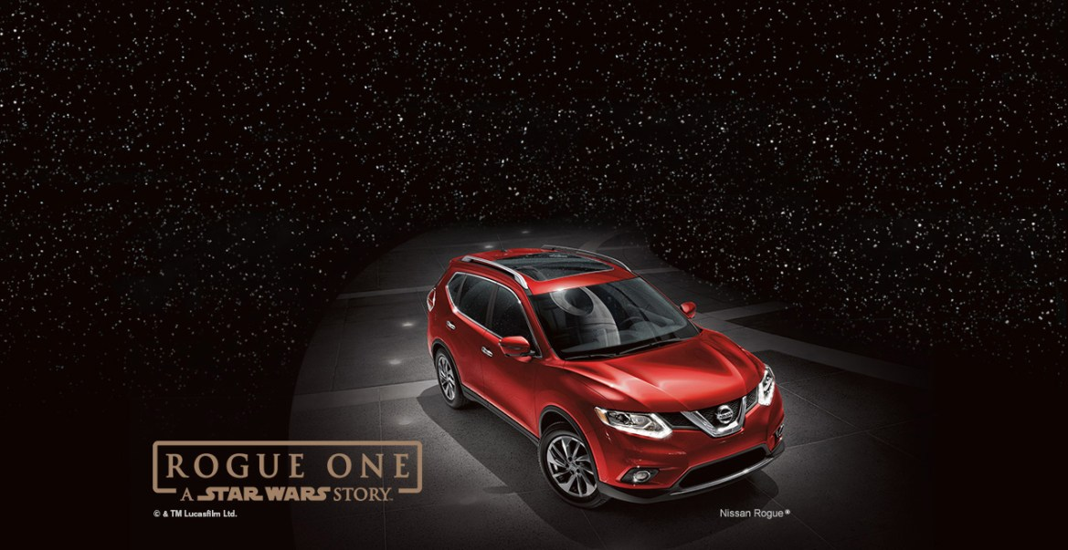 Nissan Introduces A 2017 Nissan Rogue: Rogue One Star Wars Limited Edition