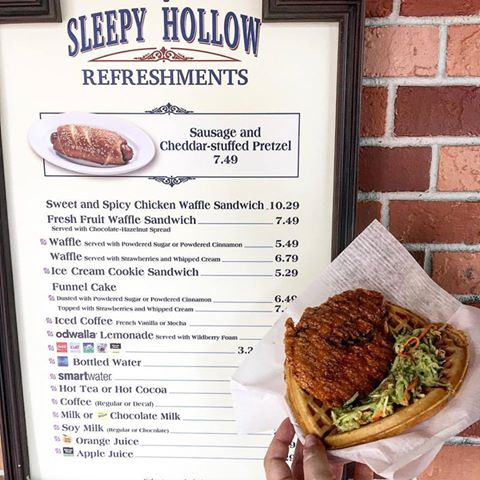 Sweet & Spicy Chicken Waffle Returns to Sleepy Hollow Refreshments in the Magic Kingdom