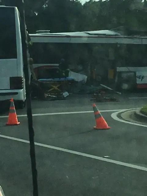 Bus on Bus accident at Walt Disney World