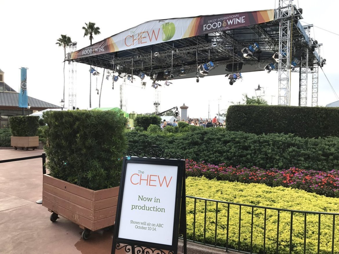 Hurricane Matthew Causing Alterations to The Chew Tapings at Epcot International Food & Wine Festival