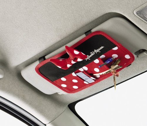 Add an Extra Disney Touch with a Minnie Mouse Car Visor Storage Pocket 886c397d669
