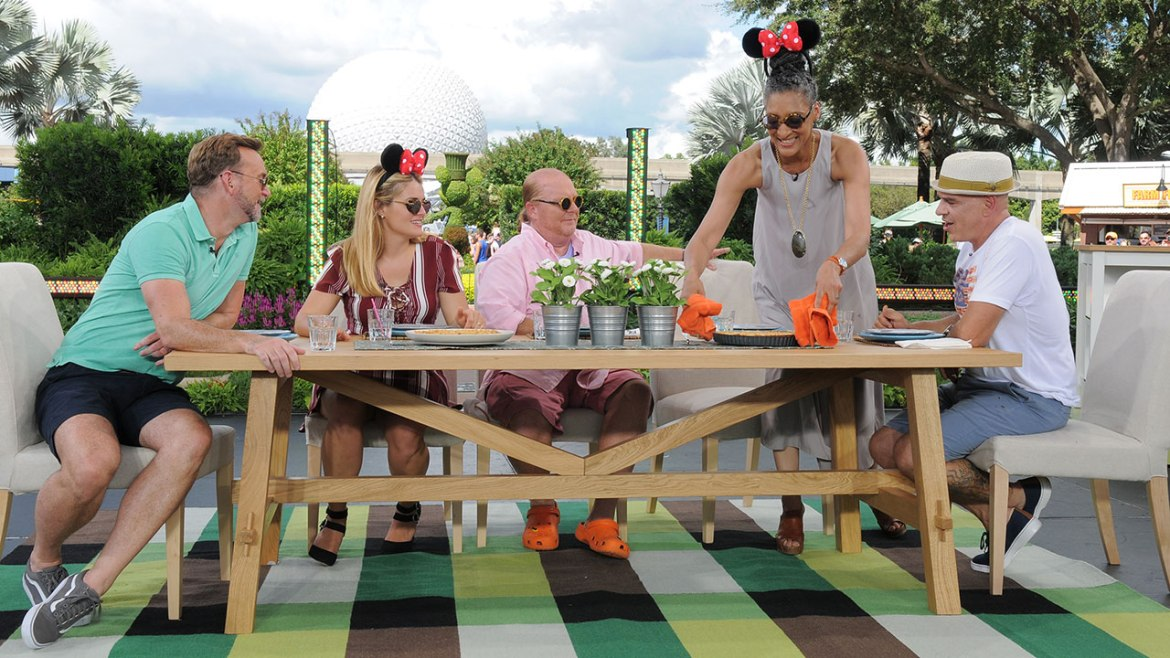 "Watch ""The Chew"" at Epcot International Food & Wine Festival this Week"