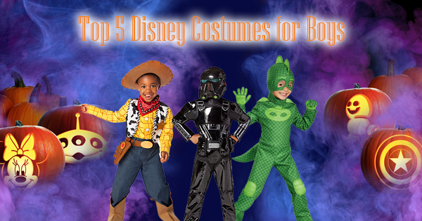 Top 5 Disney Costumes for Boys This Halloween Season
