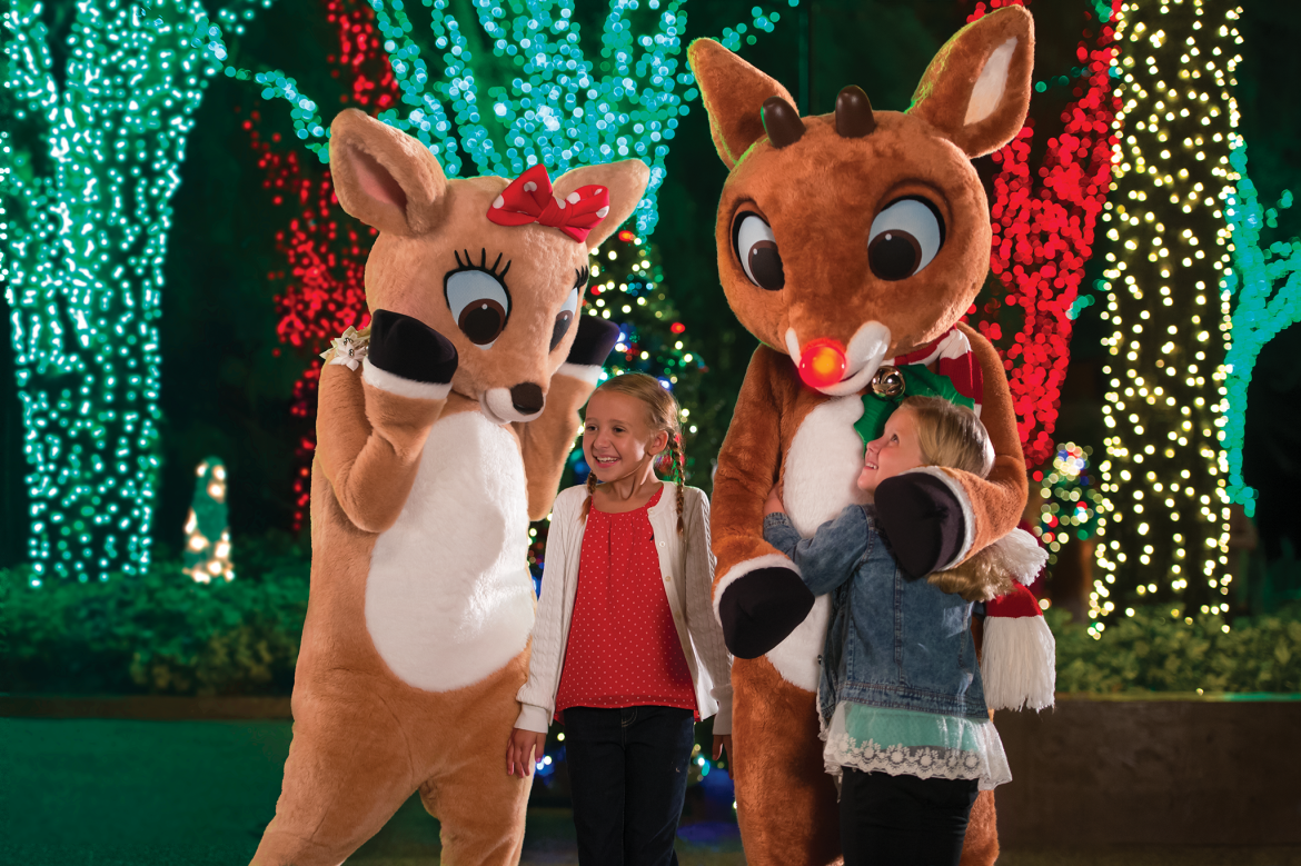 Seaworld's Christmas Celebration Brightens The Holidays With All-new Meet Rudolph Experience And Returning Classics