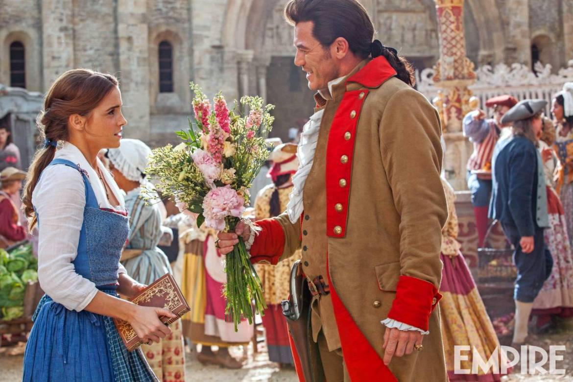 "New Live Action ""Beauty And The Beast"" Image Released"
