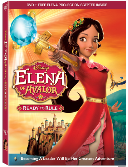 Elena of Avalor: Ready to Rule coming to Disney DVD For the Holidays