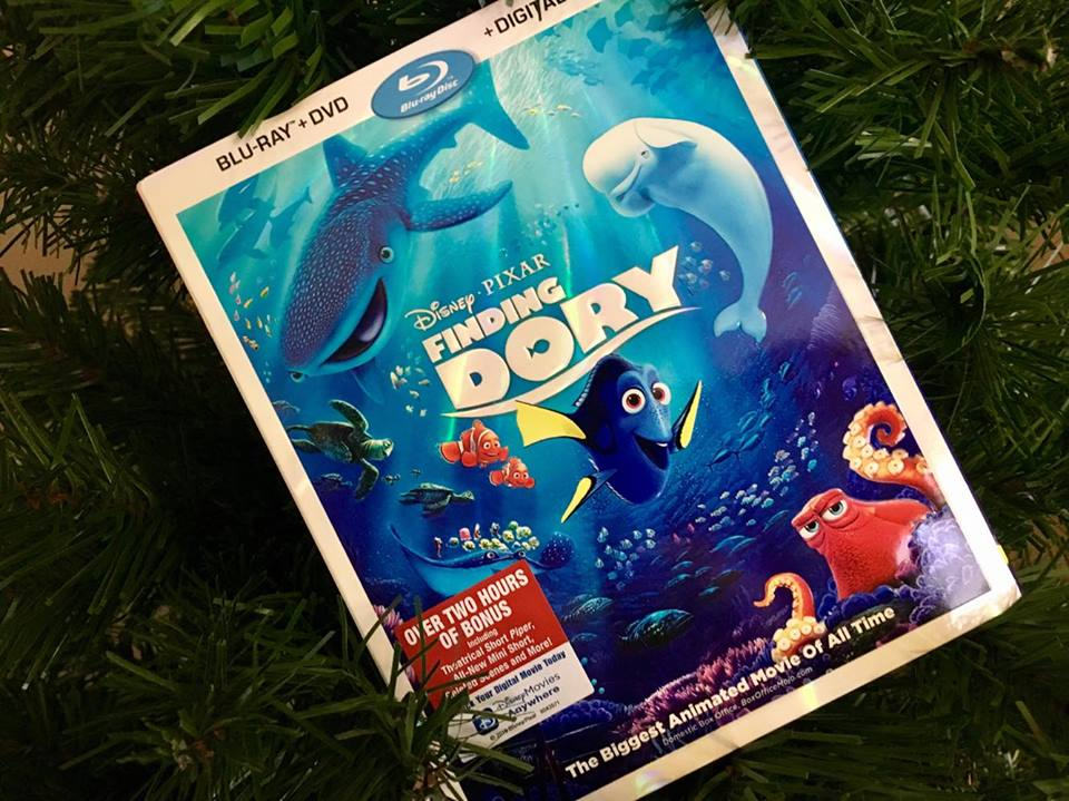 Finding Dory DVD Blu Ray Review, A Swimmingly Fun Adventure