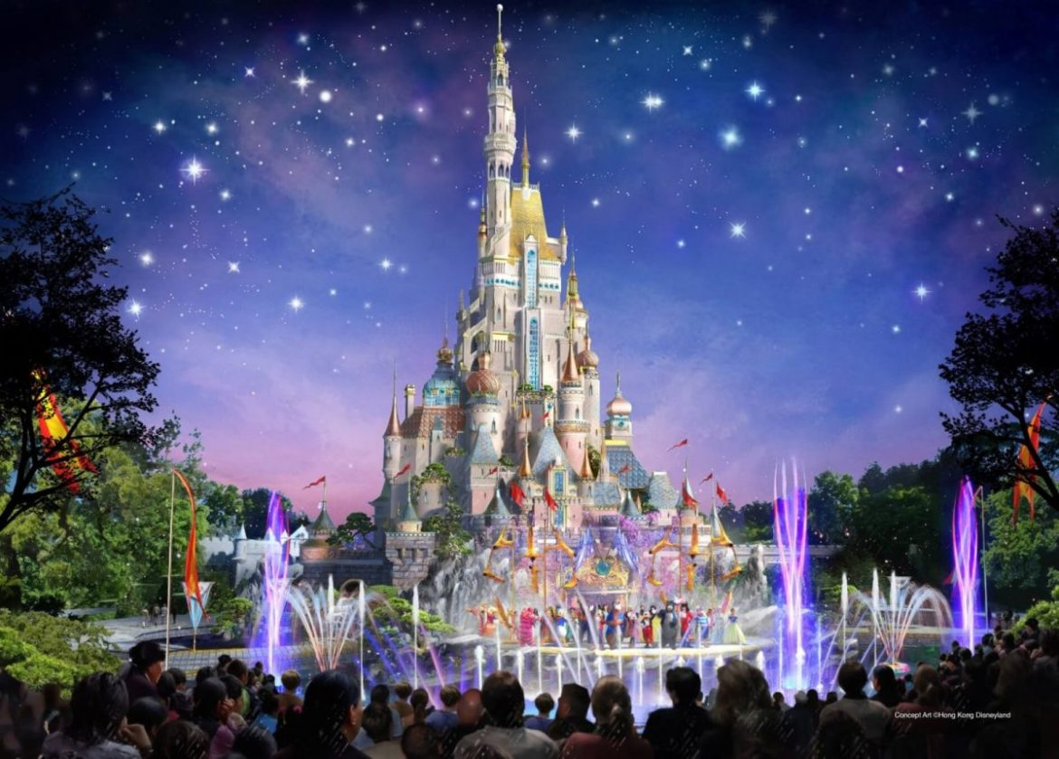 Hong Kong Disneyland Changing Castle and Adding Frozen & Marvel Lands