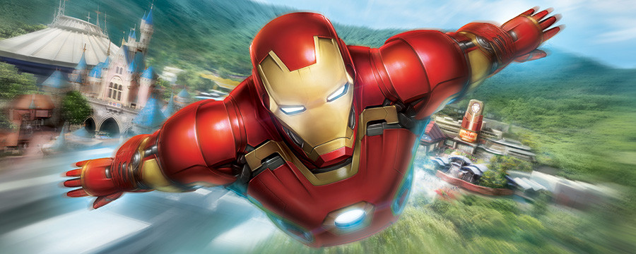Iron Man Experience at Hong Kong Disneyland Opens on January 11, 2017