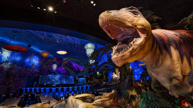 T-Rex Cafe at Disney Springs to Offer Breakfast with Santa Including World of Disney Early Entry