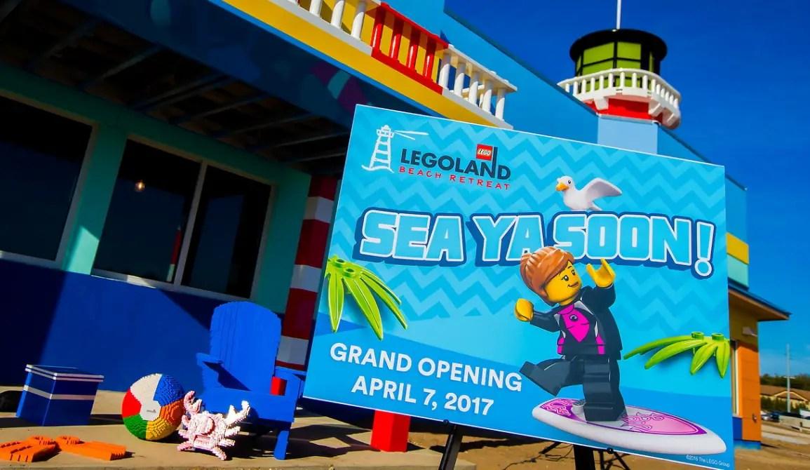 LEGOLAND Beach Retreat to Open April 7, 2017 at LEGOLAND Florida Resort